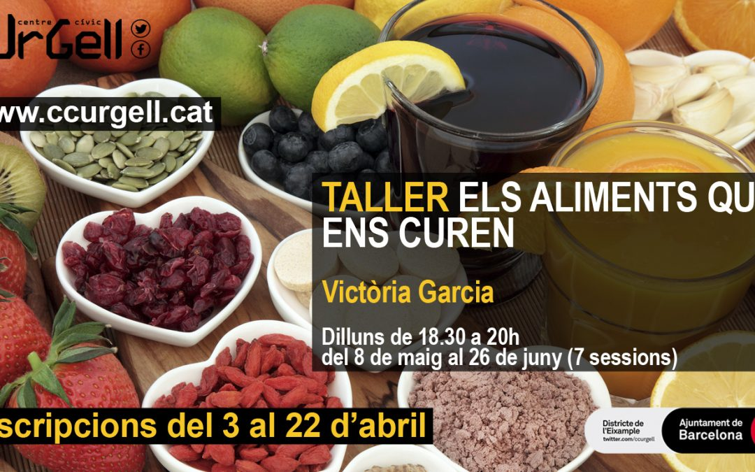 Nueva edición del Taller  Los alimentos que nos curan