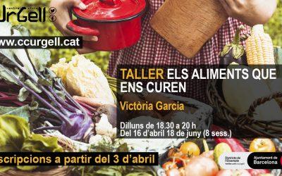 Taller alimentación Centro Cívico Urgell